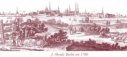 Berlin um 1780