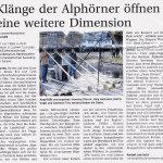 Klänge der Alphörner - Templiner Zeitung vom 16.10.12