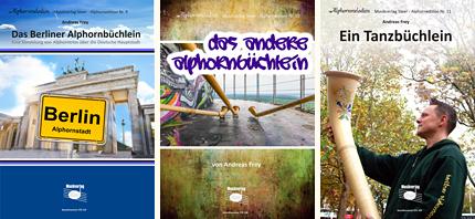 Alphorn-Noten von Andreas Frey