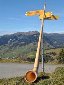 Alphorn Wandern Habkern