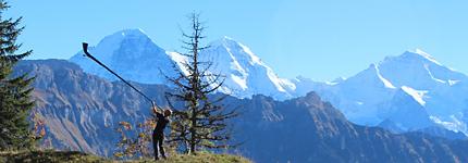 Alphorn und Wandern in Habkern
