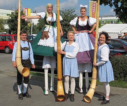 Gauklerfest im Bayrischen Stil