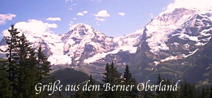 Grüße aus dem Berner Oberland