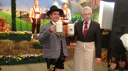 Oktoberfest Bayernverein 2013 mit Bürgermeister Norbert Kopp